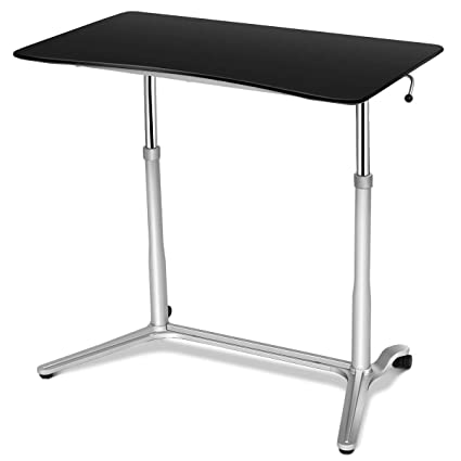 tangkula portátil mesa de escritorio altura ajustable mesa de ...