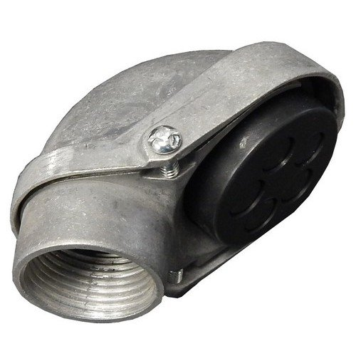 Morris 15532 Service Entrance Head, Conduit Mount Threaded, Aluminum, (Electrical Service Entrance)
