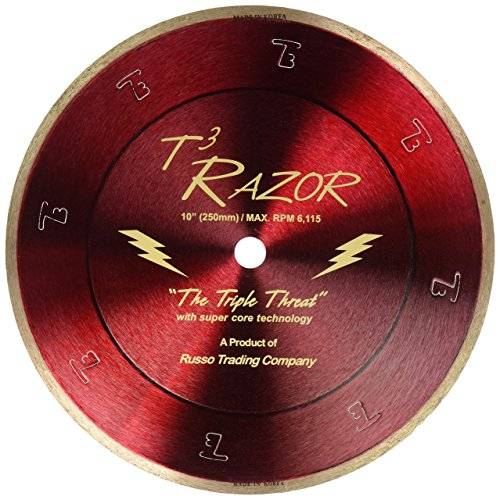 RTC T3 Razor Gold Diamond Blade, 10-Inch ()
