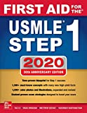 Books : First Aid for the USMLE Step 1 2020, Thirtieth edition