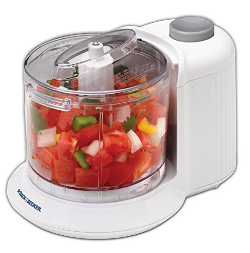 Food Processors Black & Decker 1-1/2-Cup One-Touch Electric Chopper, HC306, New,