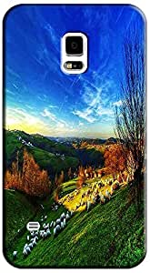 Fantastic Faye The Beautiful Wallpaper Design With Nature Scenery Dream Flower Cell Phone Cases For Samsung Galaxy S5 i9600 No.9