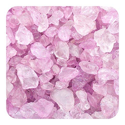 Sandtastik Preschool Craft Colored ICE Real Glass Gems, Scatters 1.5 Pint (2 lb) 4 - 10 mm - Plum (Vases Colored Plum)
