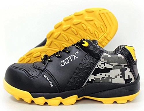 2cccfb9d168ef DDTX S1P Men's Athletic Work Shoes Lightweight Composite Toe Safety Shoes  Black (9)