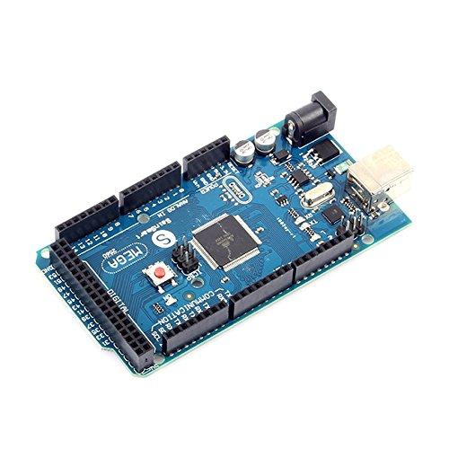 SainSmart MEGA 2560 R3 AVR Mikrocontroller Board ATmega2560 ATMEGA16U2 mit USB-Kabel Kompatibel mit Arduino Genuino MEGA2560