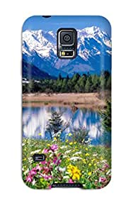 Ideal Case Cover For Galaxy S5(loisach River Germany), Protective Stylish Case