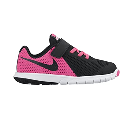 new arrival 65ec6 fdec5 Amazon.com  New Nike Girl s Flex Experience 5 Athletic Shoe Pink Black  13.5  Sports   Outdoors