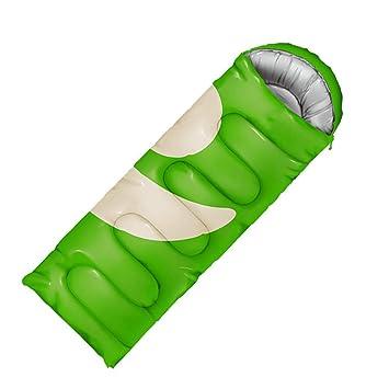 YEMO Modelos de Pareja Saco de Dormir,Envoltura Ultraligero Adultos Cara Sonriente Sleeping Pad Gran Temporada 3 Aire Libre Interiores Viajando Camping ...
