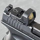 UTG OP3 Micro SL, Red 4.0 MOA Single Dot, Side