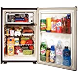 Norcold DE0788B 3.1 cu. ft. Refrigerator (120AC/12DC/24DC, with Fan and Black Door)