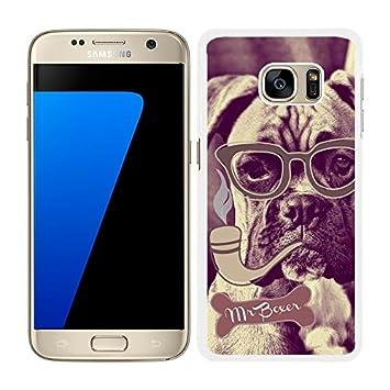 funda carcasa para Samsung Galaxy S7 Edge dibujo perro con ...