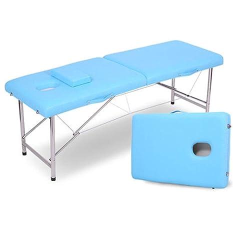 Lettino Massaggio Portatile Leggero.Reiki Blue A Lettino Per Massaggi Portatile Leggero Pieghevole