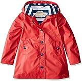 Hatley Girls' Big Splash Jackets, Red, 10