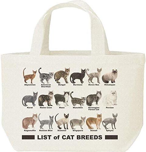 エムワイディエス(MYDS) 猫のリスト/キャンバス S ランチバッグ