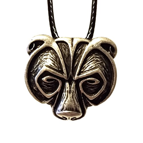 Bear Pendant Necklace Viking Celtic Tribal Nordic Native American Fast Ship From U S