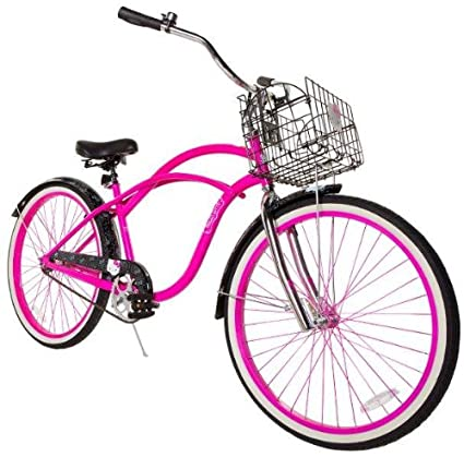 cf5593d1e66 Image Unavailable. Image not available for. Color: Hello Kitty Women's  Cruiser Bike with 17-Inch Frame ...