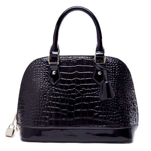 NEW IUHA Crocodile Bag-Black(s)
