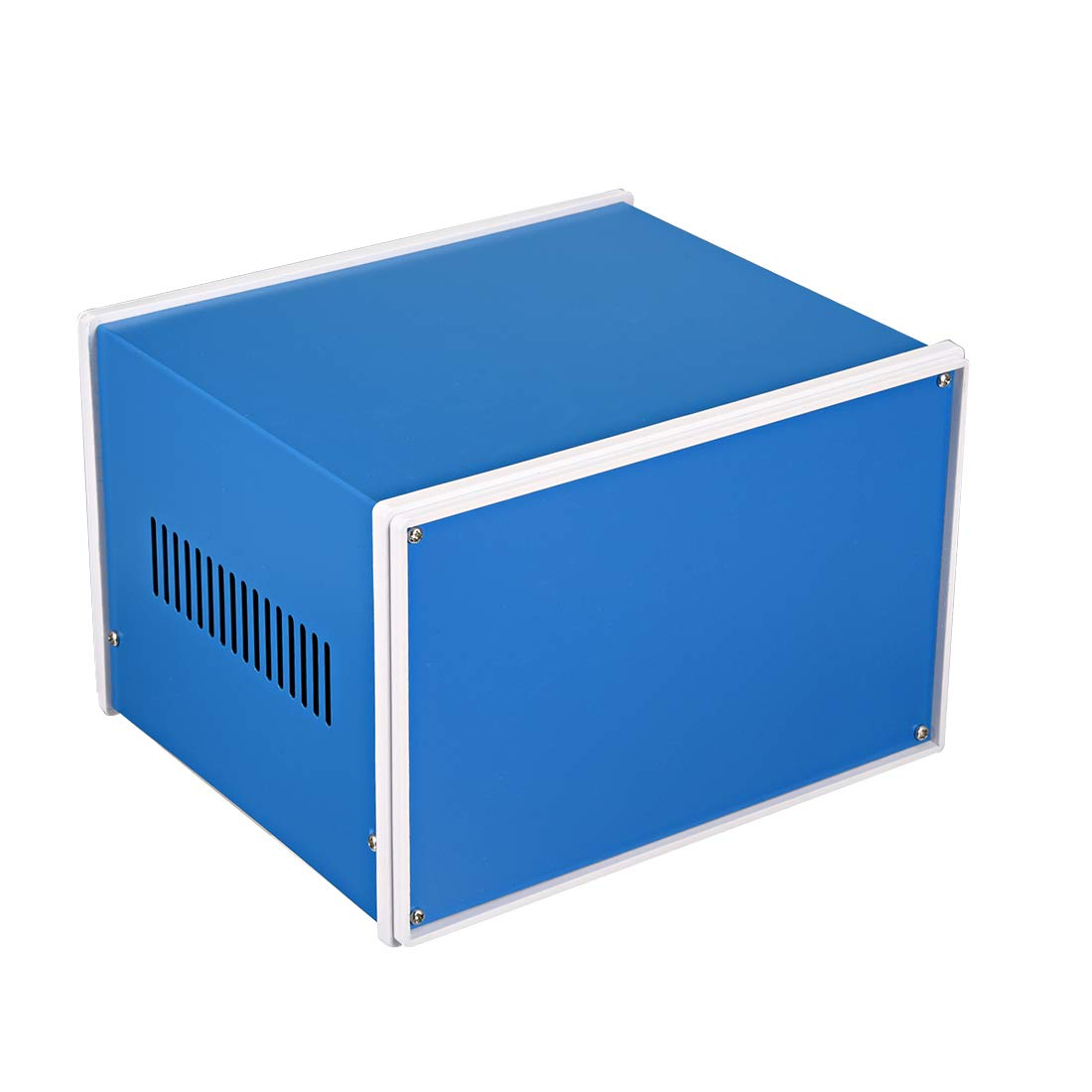 uxcell Metal Blue Project Junction Box Enclosure Case 210 x 180 x 140mm/8.27 x 7.09 x 5.51inch
