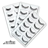 de Prettilicious 15-PAIR (3 Different style) Natural False Eyelashes Set. CHRISTMAS SALE NOW! Best gift for her, perfect for Thanksgiving and Christmas presents. 100% Risk Free Guarantee.
