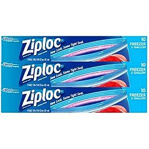 A Ziploc Double Zipper Bag, 347 Variety Pack,