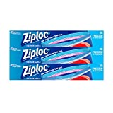 zip lock freezer - Ziploc Freezer Bags, Two Gallon, 3 Pack, 10 ct