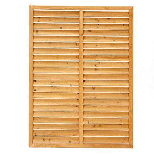 【カインズ】木製ルーバーラティスフェンス