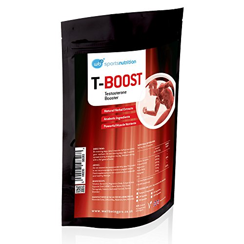WBP T-Boost Anabolic Testosterone Booster for Men - Strongest Legal...