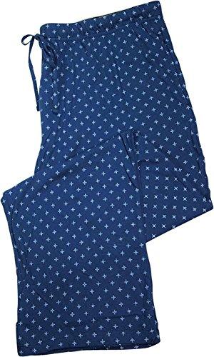 Hanes Mens Printed Knit Sleep Pajama Pant - 8 Colors and Prints Available