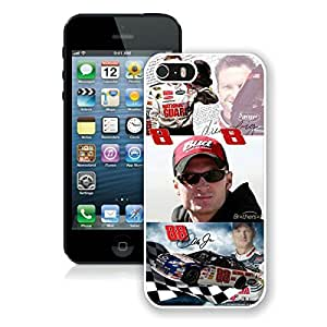 5 Phone case,Dale Earnhardt Jr White iPhone 5 cell phone case