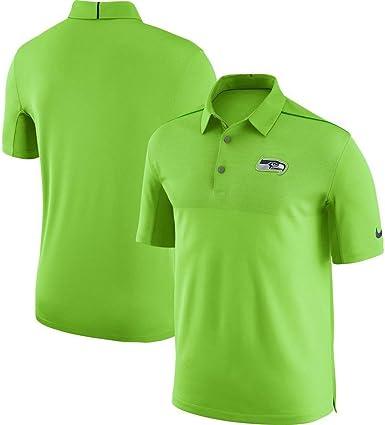 Amazon Com Nike Seattle Seahawks Sideline Elite Coaches Team Chaqueta De Entrenamiento Para Hombre Talla Xxl Color Verde Clothing