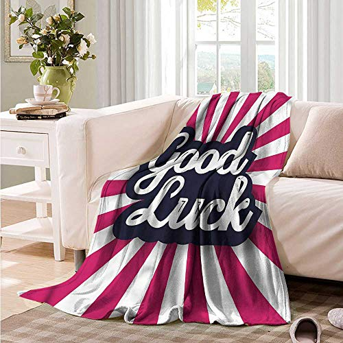 Oncegod Blanket Custom Photo Going Away Party Good Luck Super Soft Cozy 84