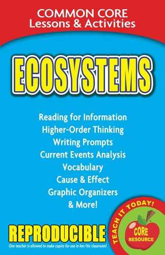 Ecosystems - Common Core Lessons and Activities