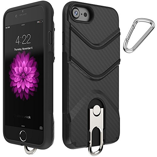 iphone 7 Case,LSCHARM Strong Guard Protection Shockproof iPhone 7 Case with Ring Holder Kickstand for Apple iPhone 7