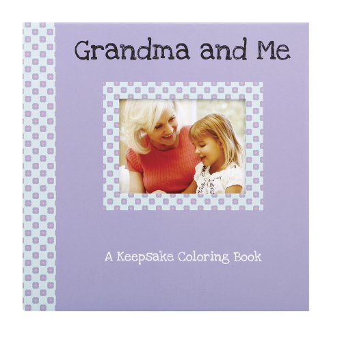 Gibby & Libby Keepsake Coloring Book, Grandma and Me by C.R. Gibson