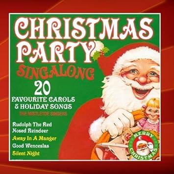 christmas party singalong 20 favourite carols holiday songs - Christmas Party Songs