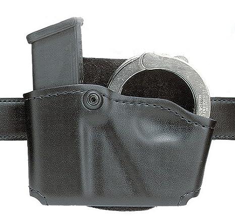 Double Magazine And Handcuff Holder Amazon Safariland 41 Glock 41 41 Open Top Paddle Magazine 18