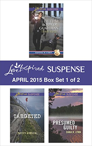 book cover of Love Inspired Suspense April 2015 - Box Set 1 of 2