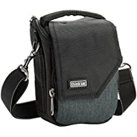 Think Tank Mirrorless Mover 5 Shoulder Bag for Mirrorless Body Camera with Small Zoom or Pancake Lens, Pewter