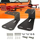 Samlight Hi-Lift Jack Mount, Solid Hinge Mounting Hood Bracket for JEEP Wrangler CJ 1944-1986/YJ 1987-1995/TJ 1997-2006