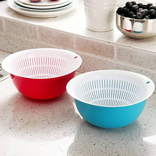 kitchen-double-drain-wash-basket-2-pack-plastic-fruit-and-vegetable-baskets-of-amoy-food-bowl-drop-s