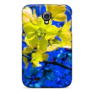 New Saraumes Super Strong Springflower Tpu Case Cover For Galaxy S4