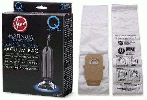 Hoover Bag Paper Type Q Platinum 2 Pack ()
