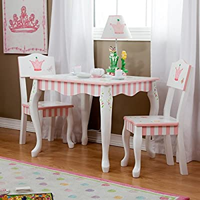Fantasy Fields Princess & Frog Table and Chair Set