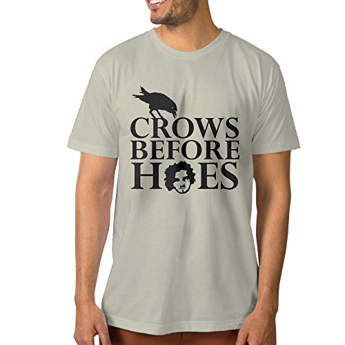 Crows Before Hoes Jon Snow Game Of Thrones Tee