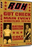 ROH- Ring of Honor Wrestling: Gut Check DVD Chicago Ridge, IL 08/26