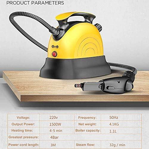 BinBin Nettoyage à la Vapeur Machine Cuisine Fumée ménagers air conditionné, désinfection et stérilisation Pistolet de Lavage de Voitures Lave-Linge