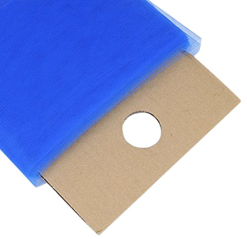 - BBCrafts Royal Blue Polyester Tulle Fabric Bolt 54 inch 40 Yards