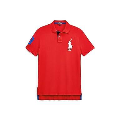 Ralph Lauren - Polo Big Pony - Rojo (S): Amazon.es: Ropa y accesorios