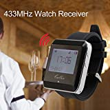 433MHz Watch Receive Wireless Calling System - Restaurant Equipment Waiter Call Pager Catering Customer Service