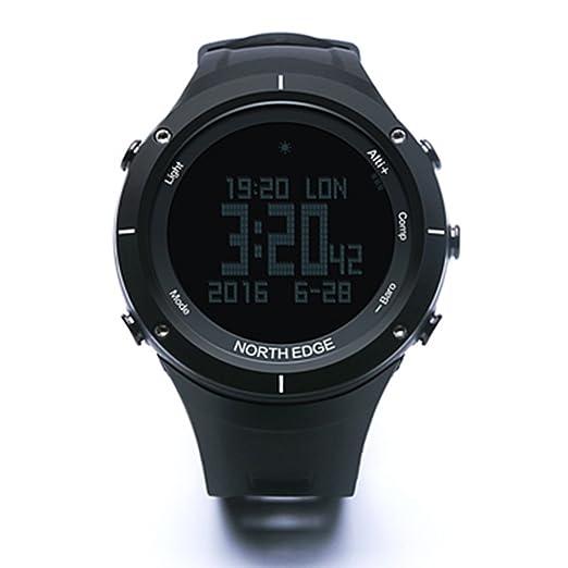 3 opinioni per North Edge digitale orologi da uomo militare orologio moda uomo e display a LED
